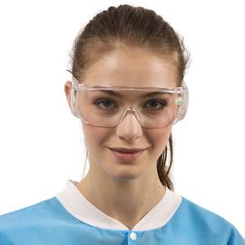 Dochem Защитные очки, пластиковые, тип мото, прозрачные линзы и оправа