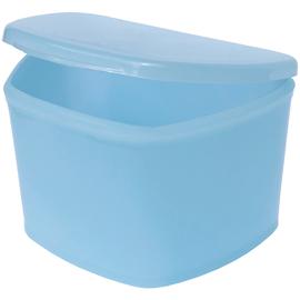 Dochem Футляр для зубных протезов, светло-синий