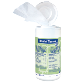 Bacillol Tissues Салфетки для быстрой дезинфекции, на спиртовой основе, 100 шт.