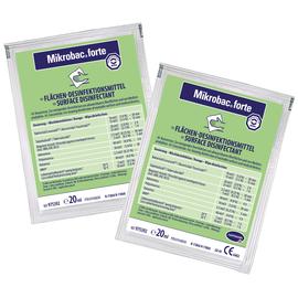 Mikrobac forte Средство для дезинфекции и очистки всех водостойких поверхностей, 20 мл
