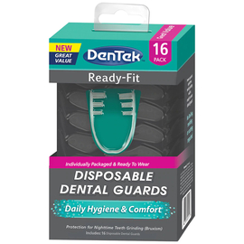 DenTek Комфортная посадка Зубная капа, в упаковке 2 шт.