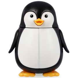 DenTek Футляры для зубных щеток; пингвин