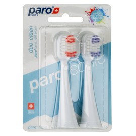 paro®sonic duo-clean Сменные щетки для интенсивного и глубокого очищения, 2 шт.