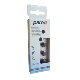 paro® PLAK 2-цветные таблетки для индикации зубного налета, 10 шт
