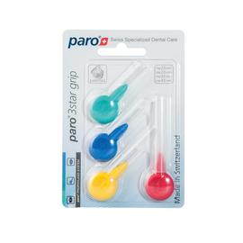 paro® 3STAR-GRIP Межзубные щетки, набор образцов, 4 разных размера