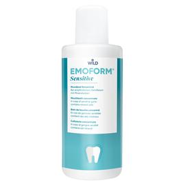 EMOFORM Для чувствительных зубов Ополаскиватель для полости рта с минеральными солями и фторидом, концентрат, 400 мл