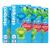 Steripod Антибактериальный чехол для зубной щетки (4 упаковки по 2 шт.), сочетание тихоокеанский синий + зеленая зависть