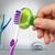 Steripod Антибактериальный чехол для зубной щетки, кристально чистый зеленый (в упаковке 1 шт.) ПОДАРОК