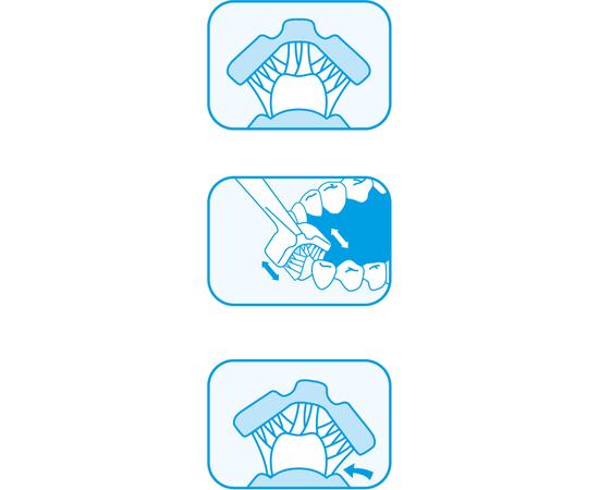 Dr. Barman's Superbrush Regular Трехсторонняя зубная щетка, стандартная, изображение 6