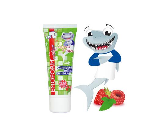 EMOFORM YOUNGSTARS Детская Зубная паста, 12 мл, изображение 2