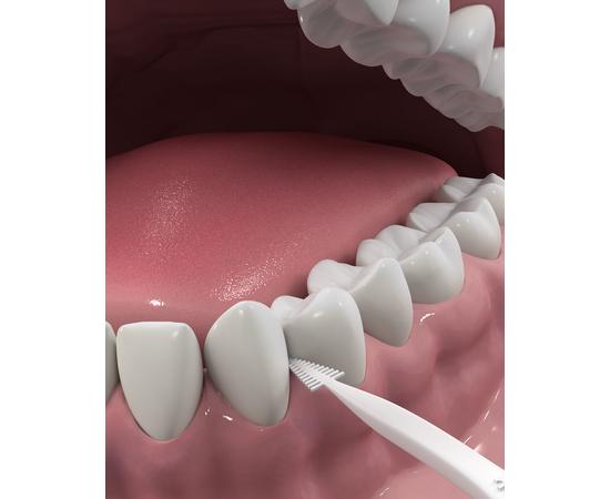 DenTek Комплексное очищение Задние зубы Флосс-зубочистки, 125 шт., изображение 4