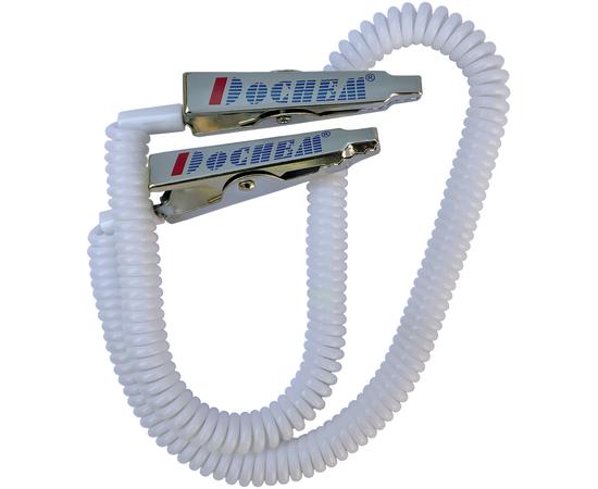Dochem Клипсы для нагрудников, металлическая клипса + силиконовая пружинная цепочка
