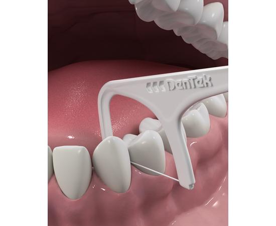 DenTek Комплексное очищение Флосс-зубочистки, 90 шт., изображение 4