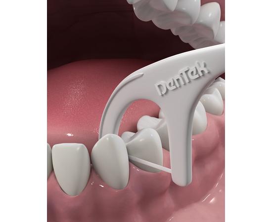 DenTek Комфортное очищение Флосс-зубочистки, 3 шт., изображение 3