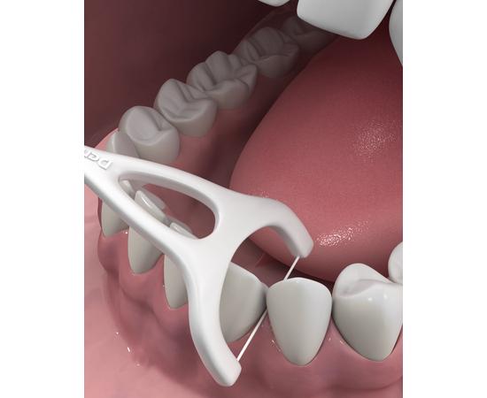 DenTek Комплексное очищение Задние Зубы Флосc-зубочистки, 3 шт., изображение 2