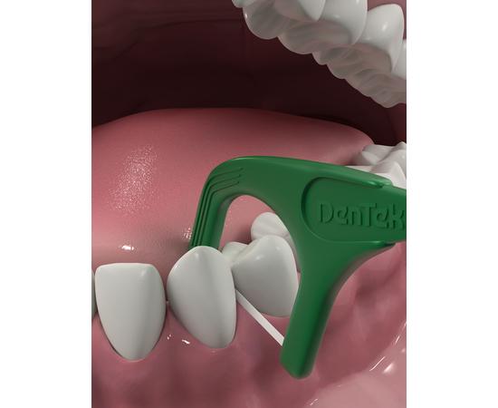 DenTek Освежающее очищение Флосс-зубочистки, 75 шт., изображение 5