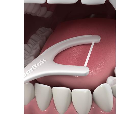 DenTek Комфортное очищение Флосс-зубочистки, 3 шт., изображение 5