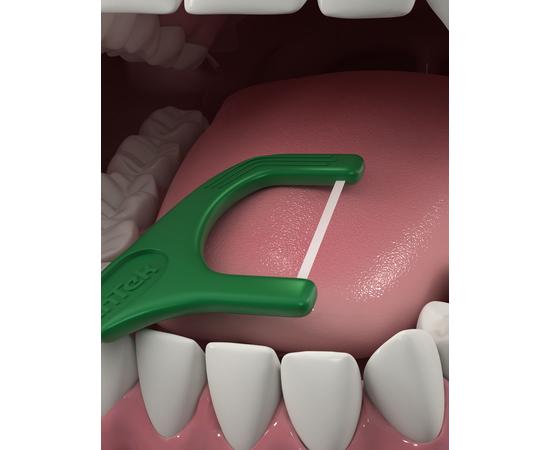 DenTek Освежающее очищение Флосс-зубочистки, 75 шт., изображение 7