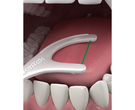 DenTek Тройное очищение Флосс-зубочистки, 75 шт., изображение 7