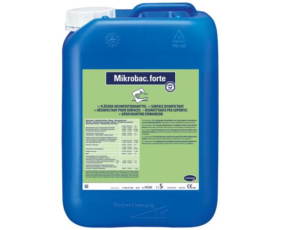 Mikrobac forte Средство для дезинфекции и очистки всех водостойких поверхностей, 5 л