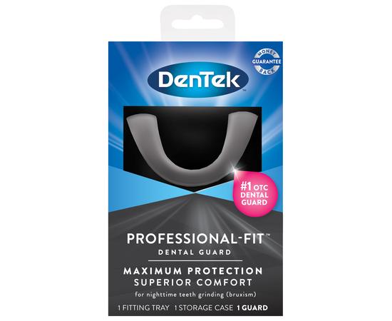 DenTek Профессиональная посадка Максимальная защита Зубная капа