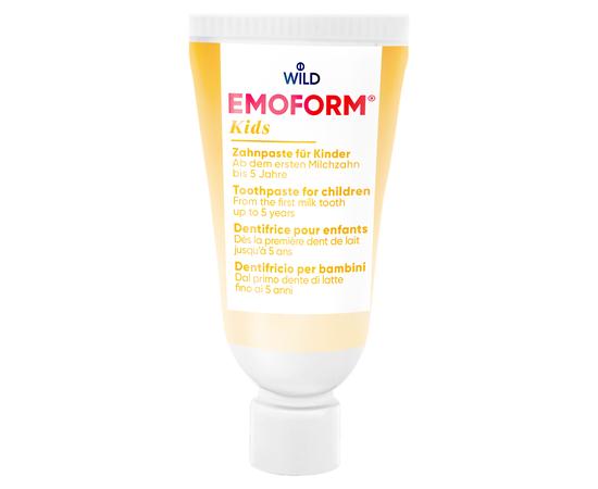 EMOFORM actifluor KIDS Детская зубная паста, 12 мл