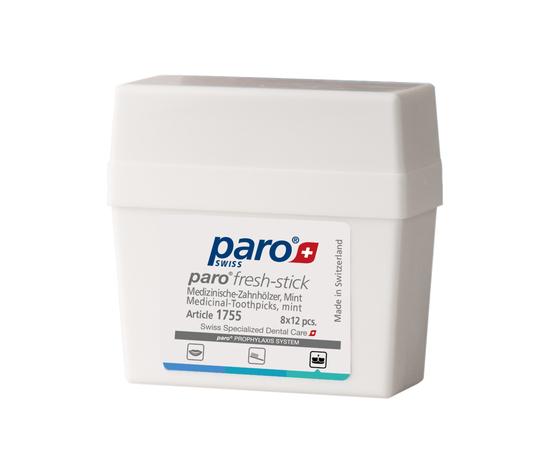paro® FRESH-STICKS Медицинские зубочистки, среднего размера, с мятным вкусом, 96 шт.
