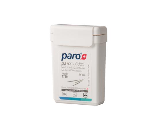 paro® SOLIDOX Медицинские двухсторонние зубочистки, 96 шт.