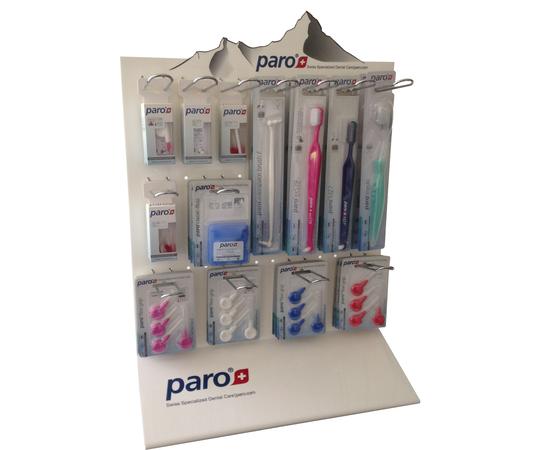 paro® акриловый стенд – с металлическими держателями