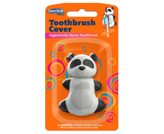 DenTek Футляры для зубных щеток; панда, изображение 3