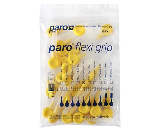 paro® flexi grip Межзубные щетки, xx-тонкие, Ø 2.5 мм, 30 шт.
