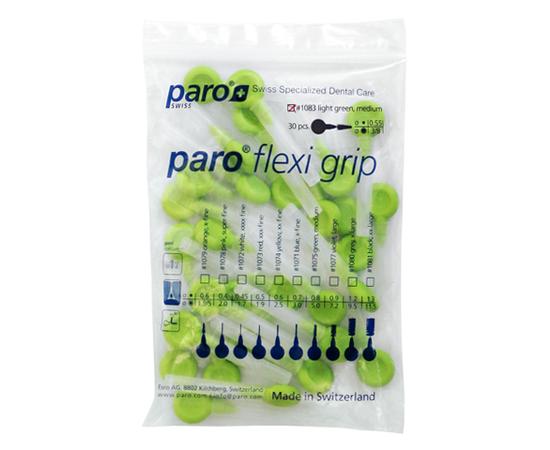 paro® flexi grip Межзубные щетки, средние, конические, Ø 3.0/8.0 мм, 30 шт.
