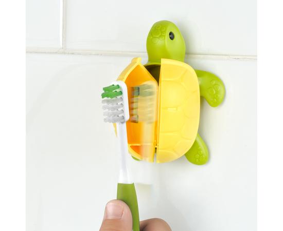 DenTek Футляры для зубных щеток; черепаха, изображение 3