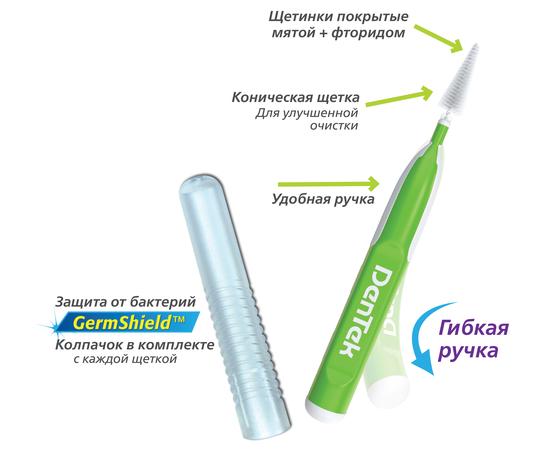 DenTek Удобное очищение Межзубные щетки Для узких промежутков, 1 шт.