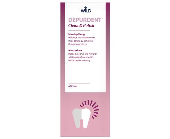 DEPURDENT Очищение и полировка Ополаскиватель для полости рта, 400 мл, изображение 2
