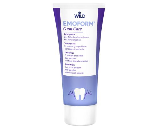 EMOFORM Уход за деснами Зубная паста с минеральными солями, 75 мл