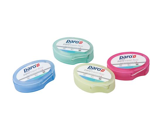 paro® TRAVEL-FLOSS Зубная нить дорожная, 2 x 15 м