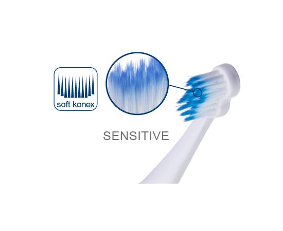 paro®sonic sensi-clean Сменные щетки, 2 шт., изображение 2